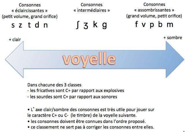 consonne et caractère clair ou sombre de la voyelle en verbo tonale
