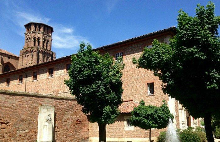 En plein centre ville de Toulouse, le Musée des Augustins