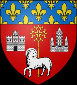 Toulouse, le blason de la ville