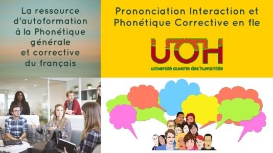 Prononciation Interaction et Phonétique Corrective est en ligne - Au son du fle