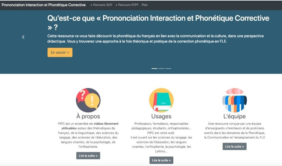 Prononciation Interaction et Phonétique corrective en fle